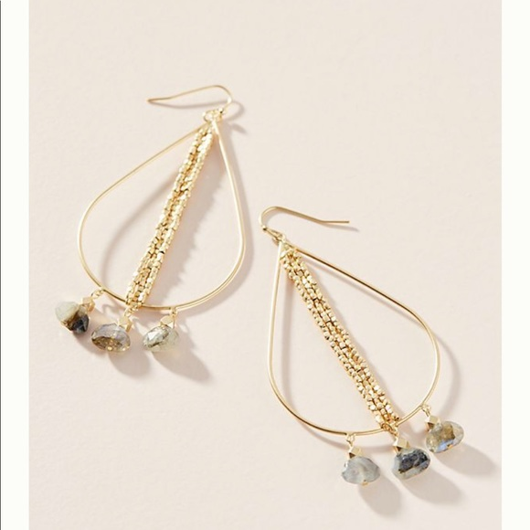 Anthropologie Jewelry - NWT Anthropologie Leigh Drop Earrings
